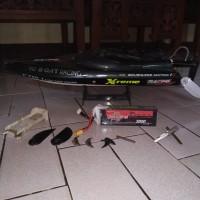 rc boat ft011 upgrade esc seaking 90a 2nd bekas ft012 ft009 volantex