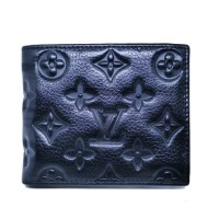 dompet kulit pria LV DK3920-3 black hitam