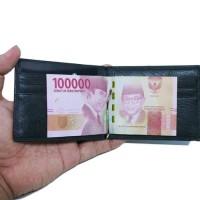 dompet kulit pria MB DK5129 money clip black
