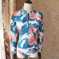 Baju Renang Wanita: One Piece Lengan Panjang u Surfing Bl Long