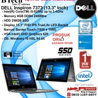 "DELL Inspiron 7373 (13.3"") Core i5-8250U/8GB/256GB/Intel UHD/Win10HSL"