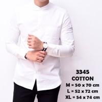 Harga forstylezone baju kemeja lengan panjang casual kantor formal | Pembandingharga.com