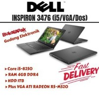 Laptop RESMI Laptop DELL INSPIRON 3476 Core I5-4GB-1 TB-VGA ATI RADE
