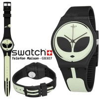 Swatch GB307 Telefon Maison Original Glow in The Dark