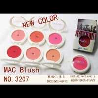 MAC Blush On Kode 3207 / MAC Jeremy Scott