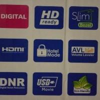 Aqua Sanyo 32 Inch LED TV 32AQT6000 DVBT2 Digital TV HDMI USB VGA LE