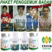 Paket Penggemuk Badan Double Dosis Spirulina Zinc Tiens/Tianshi ORI