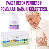 Paket Detox Pembersih Pembuluh Darah dan Kolesterol Tianshi/Tiens