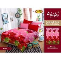Selimut Akiko King Sutra Rotary 180x200 Rosa