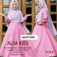 Baju Gamis Muslim Anak Rabbani set