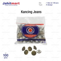 "KANCING JEANS ""MONTANA"" GOYANG (1 BKS = 100 PCS)"
