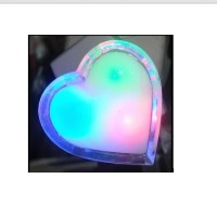 Lampu Tidur / LED Night Light LOVE 220V / 0,5 W