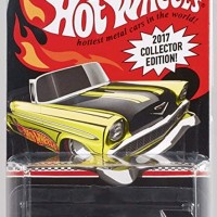 ORIGINAL HOT WHEELS 2017 COLLECTOR EDITION '56 CHEVY CONVERTIBLE RARE