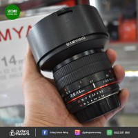 [SECONDHAND] Samyang for Nikon 14mm f2.8 - 0123 - Gudang Kamera Malang