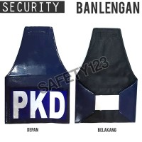 Ban Lengan Tulisan PKD Patroli Jaga Tangan Scotlight Security Satpam