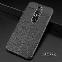Casing Nokia 5.1 Plus / X5 Soft Case Autofocus Leather