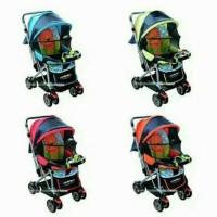 stroller kereta dorong bayi Lipat Duduk Tidur creative clasik - BL27