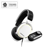Steelseries Arctis Pro + Game DAC Gaming Headset - White
