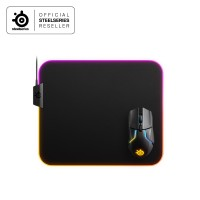 Steelseries Qck Prism Medium Cloth RGB- Gaming Mouse Pad