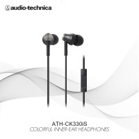 Special Price Audio-Technica ATH-CK330iS BK - Black