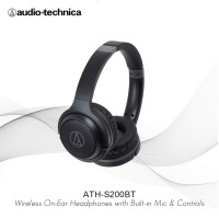 Special Price Audio-Technica ATH-S200BT Wireless Over-Ear Headphones
