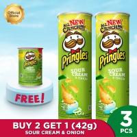 [BUY 2 GET 1] Pringles Sour Cream & Onion 107gr FREE Pringles 42gr