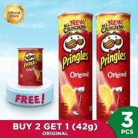 [BUY 2 GET 1] Pringles Original 107gr FREE Pringles Original 42gr