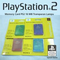 MC MEMORY CARD PS2 PS 2 16MB HITAM