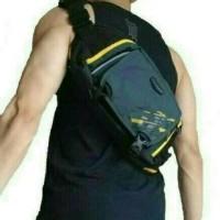 waist bag Tas Selempang Pria/Waist Bag/Sling Bag Kalibre 920121
