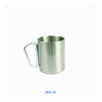 Gelas Stainless Polos 300ml Untuk Sablon Digital Sublimasi Merchandise