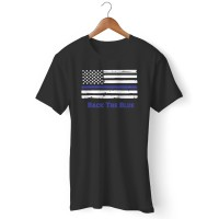 Kaos Back The Blue Blue Lives Matter Thin Blue Line Support Law Enforc