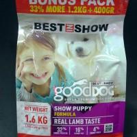 Harga makanan anjing good dog show puppy formula 1 6 kg 01 010003   antitipu.com