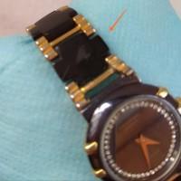 jam tangan wanita raymond weil 8084 18 k gold electroplated