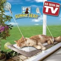 Sunny Seat - Sofa Kasur Kucing Gantung Jendela Pet Cat Bed Window