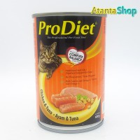 ProDiet - 400g Chicken & Tuna kornet kucing wet food pro diet