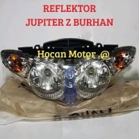 READY REFEKTOR ASSY LAMPU DEPAN JUPITER Z BURHAN 2006 2007 2008 2009