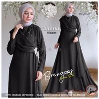 SALE Dress Pesta Muslimah ELENA Gamis Bahan Wollycrepe Good Quality G
