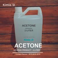 Aceton - (2 L) - Aseton - Asetone - Pembersih Kutek - Nail Remover
