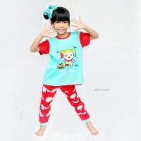 Baju Setelan Anak Perempuan Halloween Harley Queen Dessan