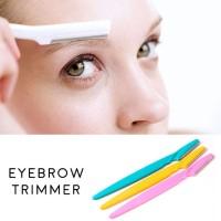 Pisau Cukur Alis Eyebrow Razor Trimmer alat potong kecantikan make up
