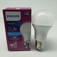 Lampu Bohlam Bola LED Bulb Mycare Philips 12W