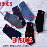 Sarung Tangan Thermal Musim Dingin (Gloves Winter ) Katun Touch Screen
