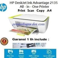 Top Produk Hp Deskjet Ink Advantage 2135 All-In-One Printer