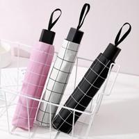 Payung lipat motif kotak / umbrella dengan warna yang bagus murah awet