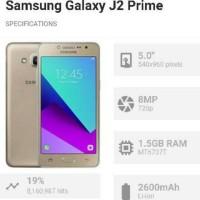 hp samsung galaxy j2 j 2 prime j2prime baru garansi resmi setahun