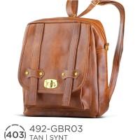 --Mahira-- Tas Bagpack Casual Wanita 492 GBR 03 --Fashion--