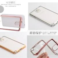 BARU TPU SHINING Samsung Galaxy Note 3 4 5 CASE HP Silicone Soft Clear