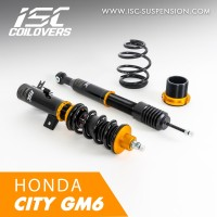 ISC COILOVERS - HONDA CITY GM6 (BASIC)