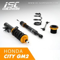 ISC COILOVERS - HONDA CITY GM2 (BASIC)