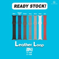 Apple Watch Leather Loop strap series 1- 4 size 38mm,42mm,40mm,44mm